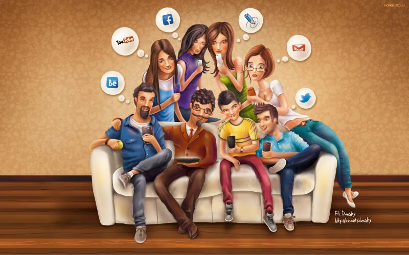 Social Network Wallpaper - Social Network Wallpaper