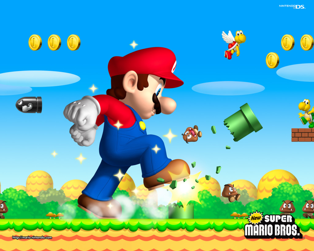 New Super Mario Brothers Wallpaper Super Mario Bros 5314181 1280 1024 - Super Mario Brothers Wallpaper
