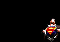Superman Black Wallpaper - Superman Black Wallpaper