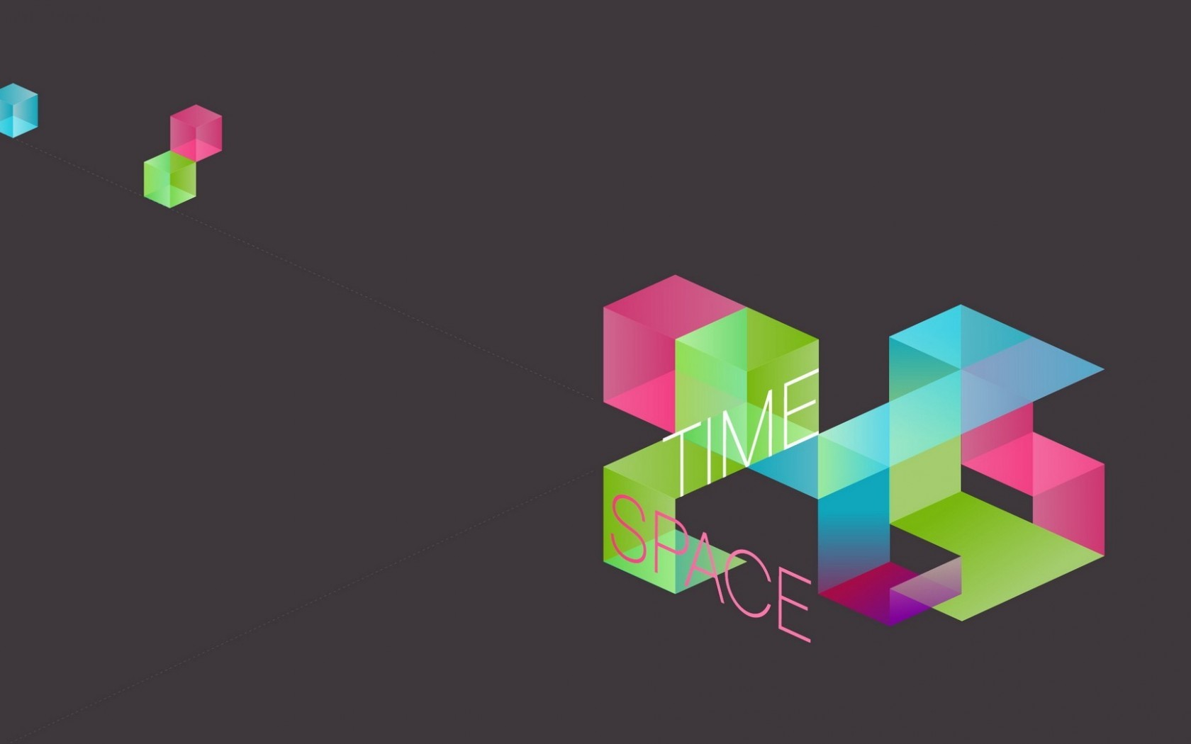 Time Space Polygon HD Wallpaper - Time Space Polygon HD Wallpaper