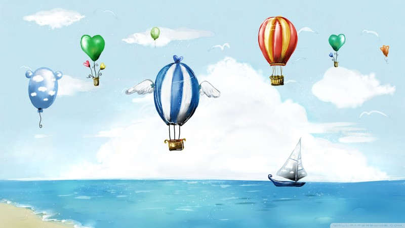 Balloons Air Cartoon - Balloons Air Cartoon