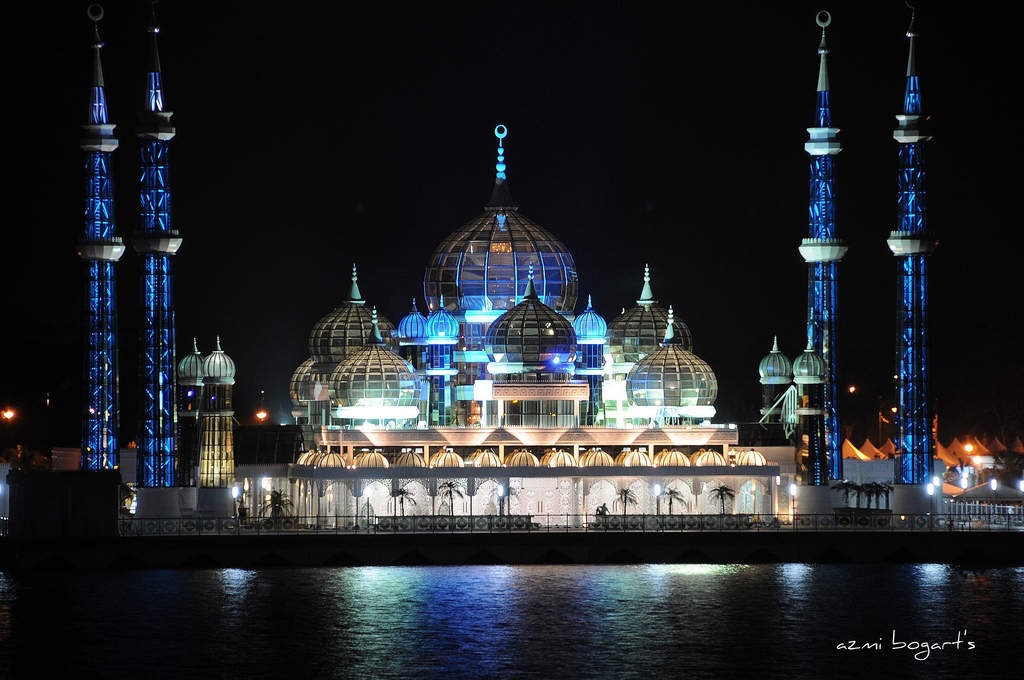 Beautiful Crystal Mosque - Beautiful Crystal Mosque