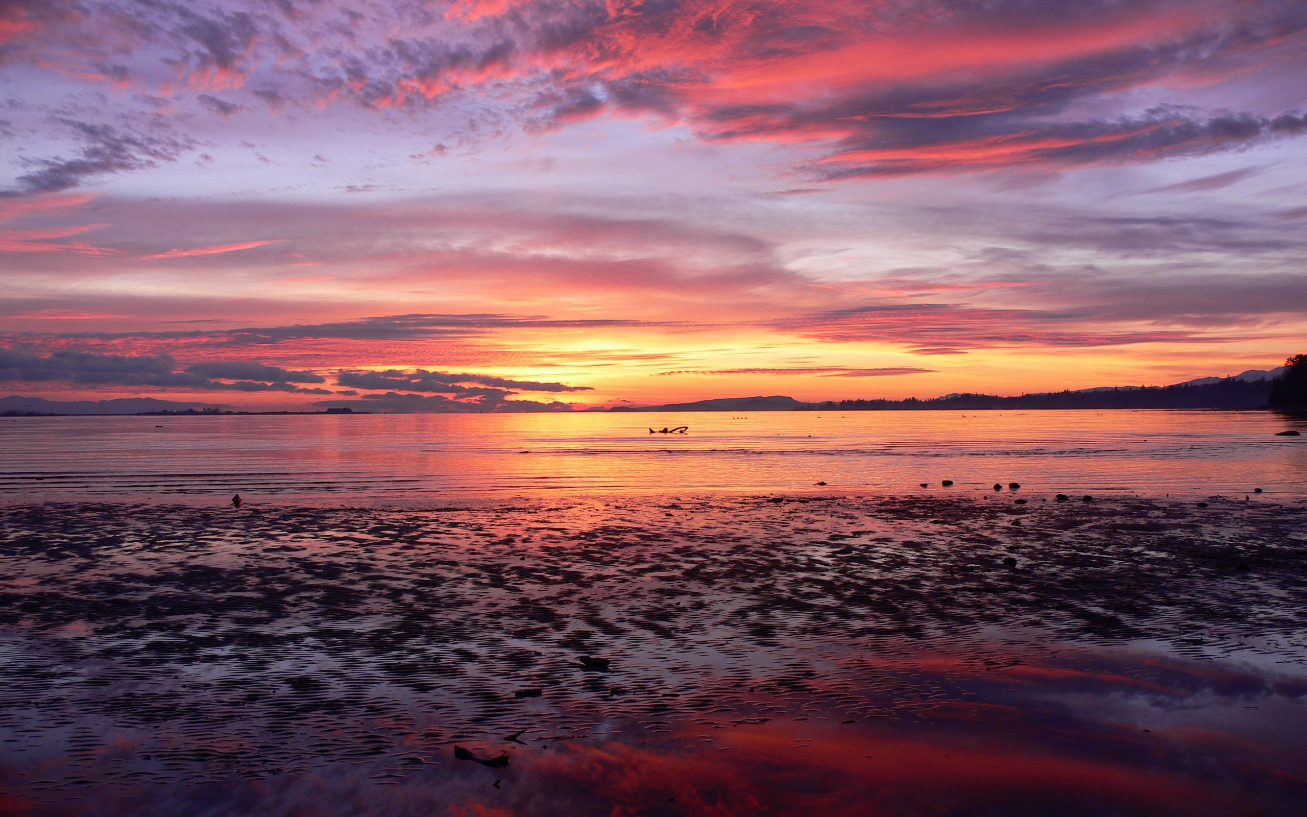 beautiful sunrise on a - photo #41
