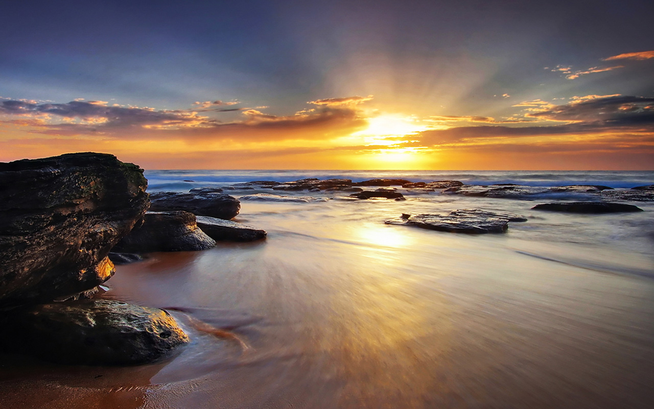 Download Wallpaper High Resolution Sunrise - Beautiful-Sunrise-Beaches1  Collection_552947.jpeg