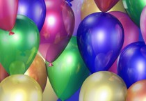 Birthday Ballons Wallpaper - Birthday Ballons Wallpaper