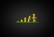 Black Lego Evolution - Black Lego Evolution