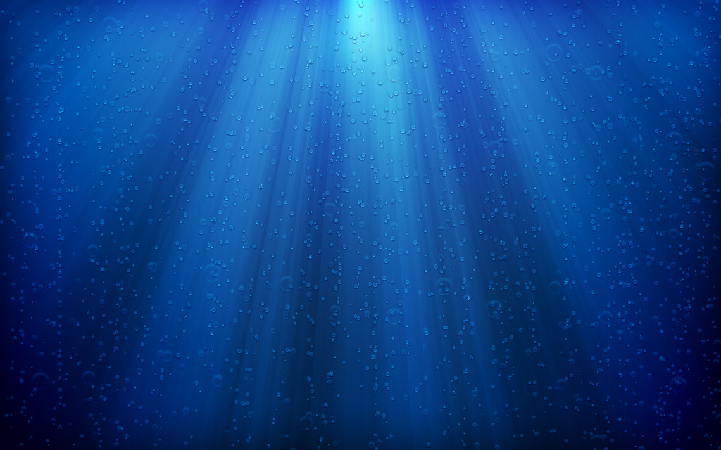 Blue Deep Sea Wallpaper - Blue Deep Sea Wallpaper