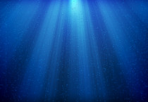 Blue Deep Sea Wallpaper - Blue Deep Sea Wallpaper