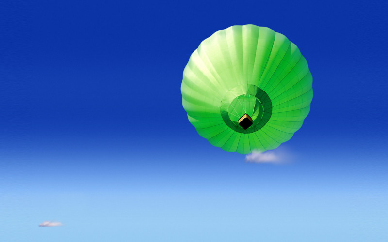 Green Air Hot Balloons - Green Air Hot Balloons