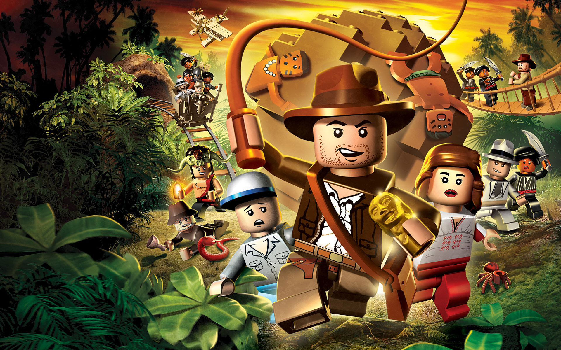 Indiana Jones Lego Version - Indiana Jones Lego Version