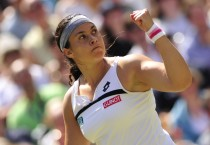 Marion Bartoli Hands Up - Marion Bartoli Hands Up