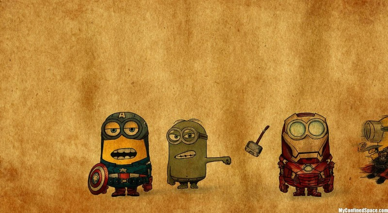 Minions Avengers Walls Pict - Minions Avengers Walls Pict