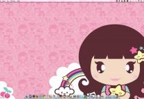 Pinky Girly Cerise Background - Pinky Girly Cerise Background