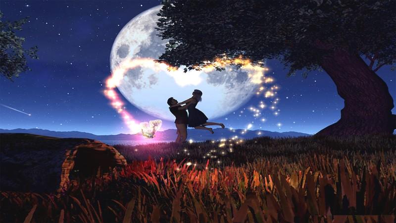 Romantic Magic Blue Moon - Romantic Magic Blue Moon