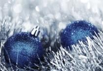 Silver Christmas Backgorund - Silver Christmas Backgorund