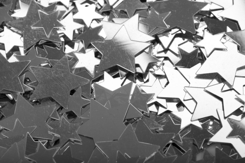 Silver Stars Wallpaper - Silver Stars Wallpaper