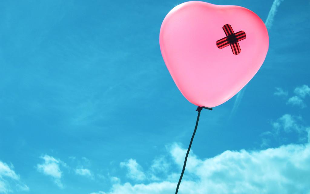 Sky Balloons Heart - Sky Balloons Heart