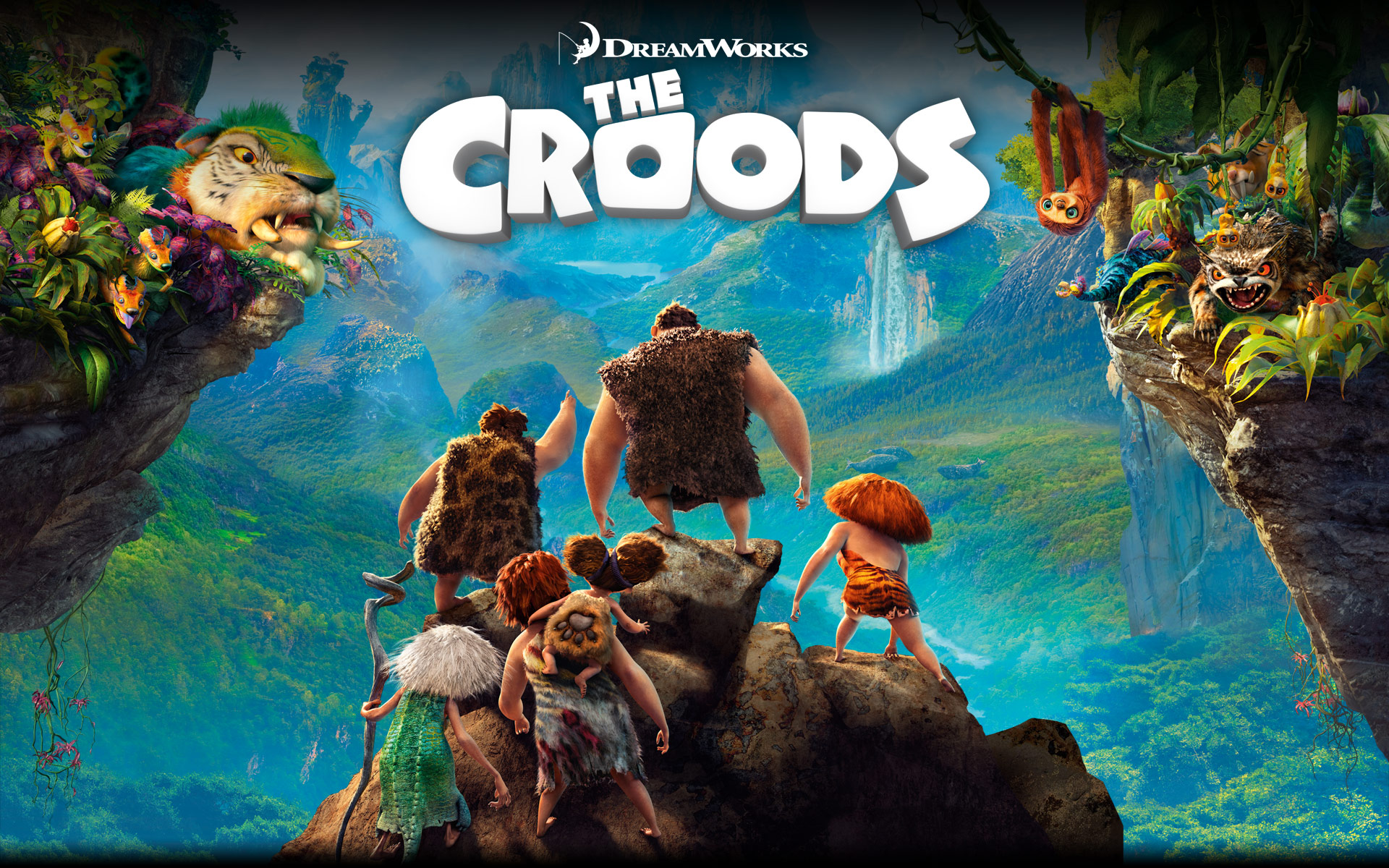 The Croods Poster - The Croods Poster