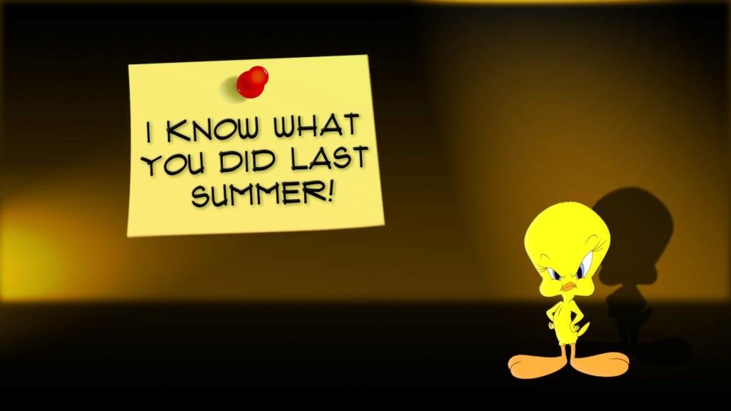Tweety Summer Reminder - Tweety Summer Reminder