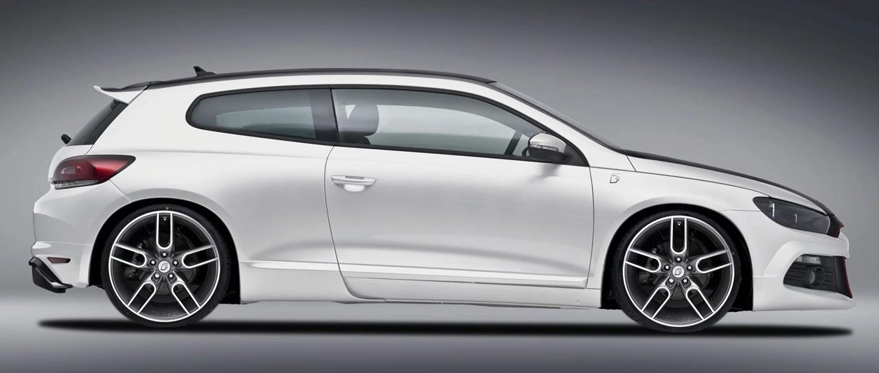 Volkswagen Scirocco White - Volkswagen Scirocco White