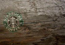 Wooden Starbucks Coffee - Wooden Starbucks Coffee