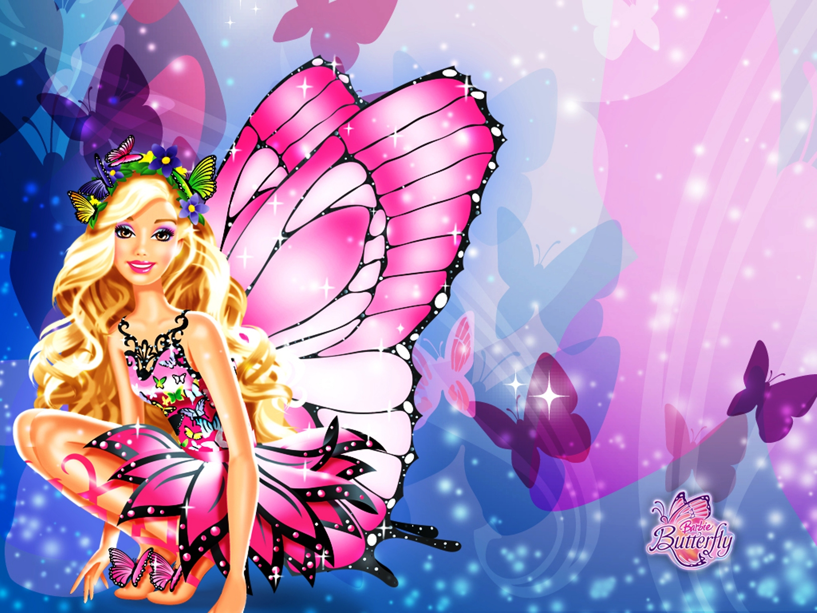 Barbie Butterfly Picture - Barbie Butterfly Picture
