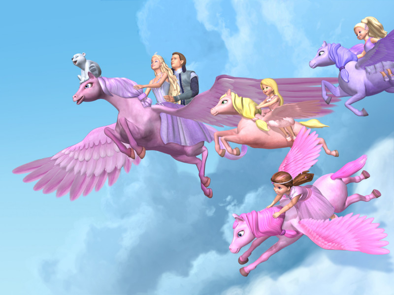 Barbie Flight With Pegasus - Barbie Flight With Pegasus