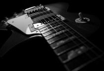 Black Guitars Background - Black Guitars Background