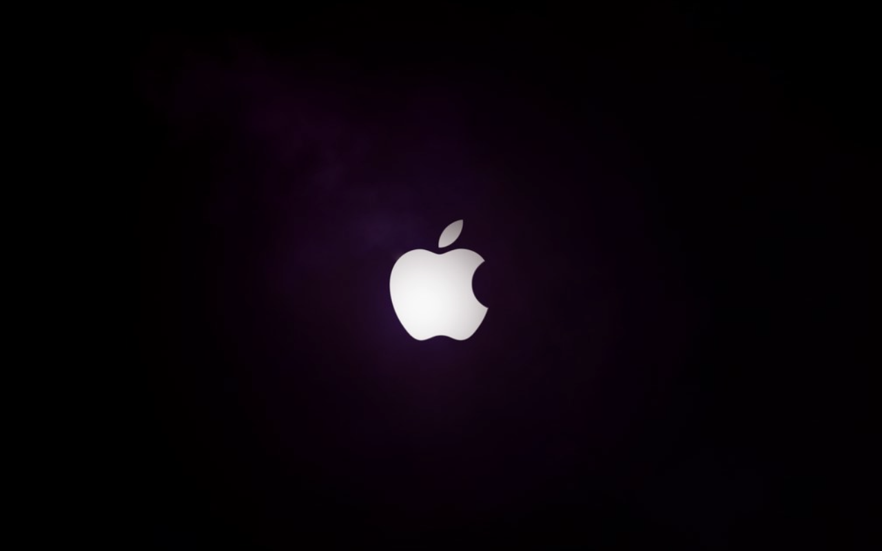 Black Purple Apple Mac - Black Purple Apple Mac