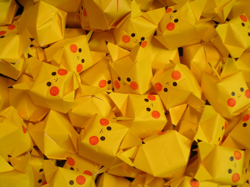 Cute Pokemon Origami Paper - Cute Pokemon Origami Paper