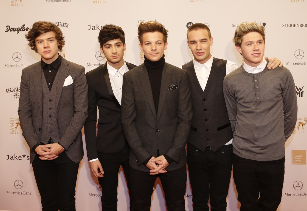 one direction red carpet - photo #33
