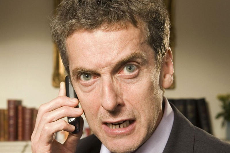 Peter Capaldi Close Up - Peter Capaldi Close Up