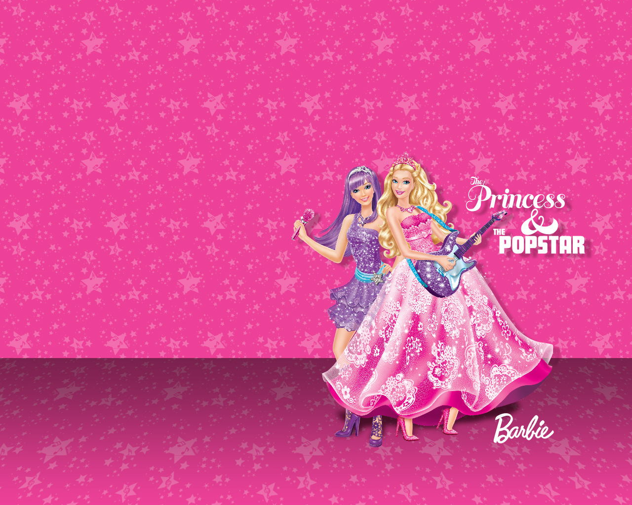 Pink Princesa & Pop Star Barbie - Pink Princesa & Pop Star Barbie