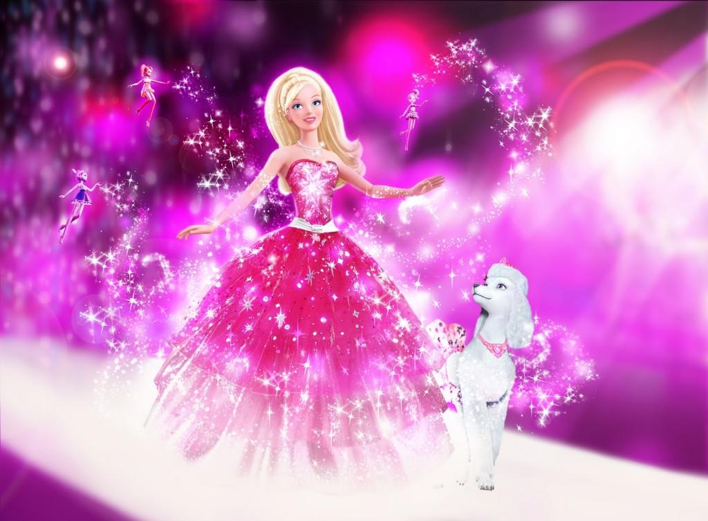 Purple Barbie Fashion Fairy - Purple Barbie Fashion Fairy