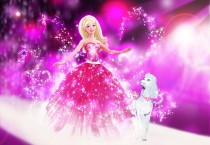 Purple Barbie Fashion Fairy - Purple Barbie Fashion Fairy