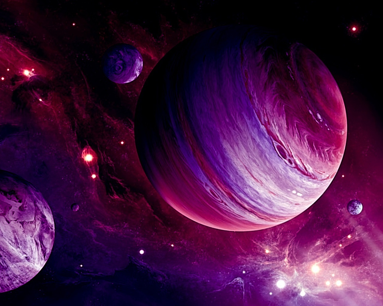 Purple Planets | SPACE