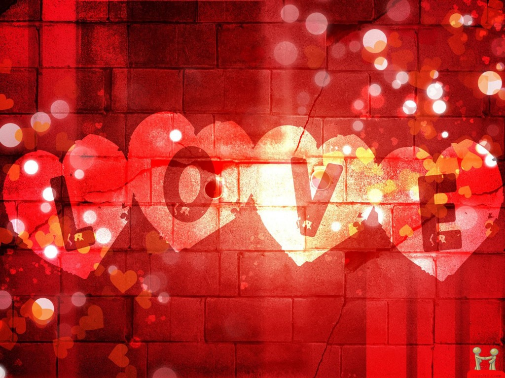 Red Love Background - Red Love Background