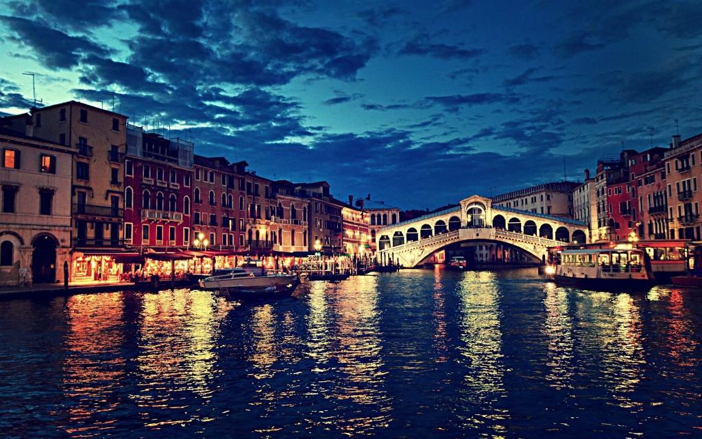 Rialto Bridge Venice City Italy - Rialto Bridge Venice City Italy