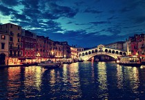 Rialto Bridge Venice City Italy - Rialto Bridge Venice City Italy