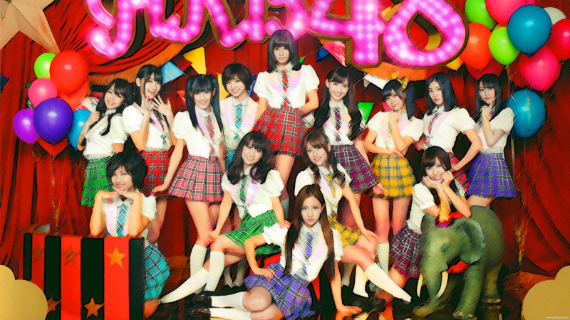 AKB 48 School Party Themes - AKB 48 School Party Themes