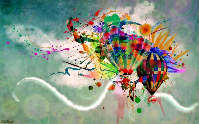 Abstract Stratospheric Balloons HD - Abstract Stratospheric Balloons HD