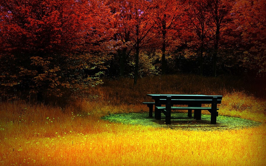 Autumn Romantic Places - Autumn Romantic Places