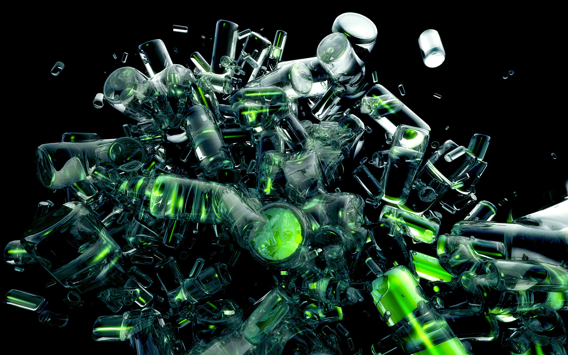 Bottles Crash 3D - Bottles Crash 3D