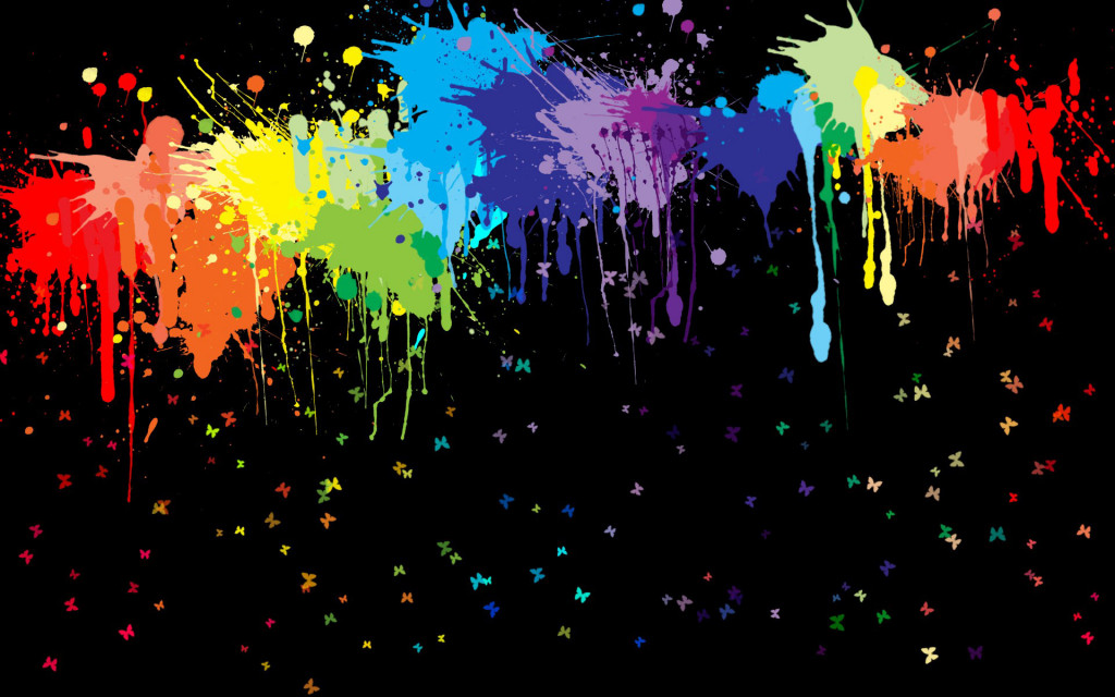 paint drop wallpaper - photo #19