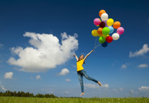 High Jumping The Balloons - High Jumping The Balloons