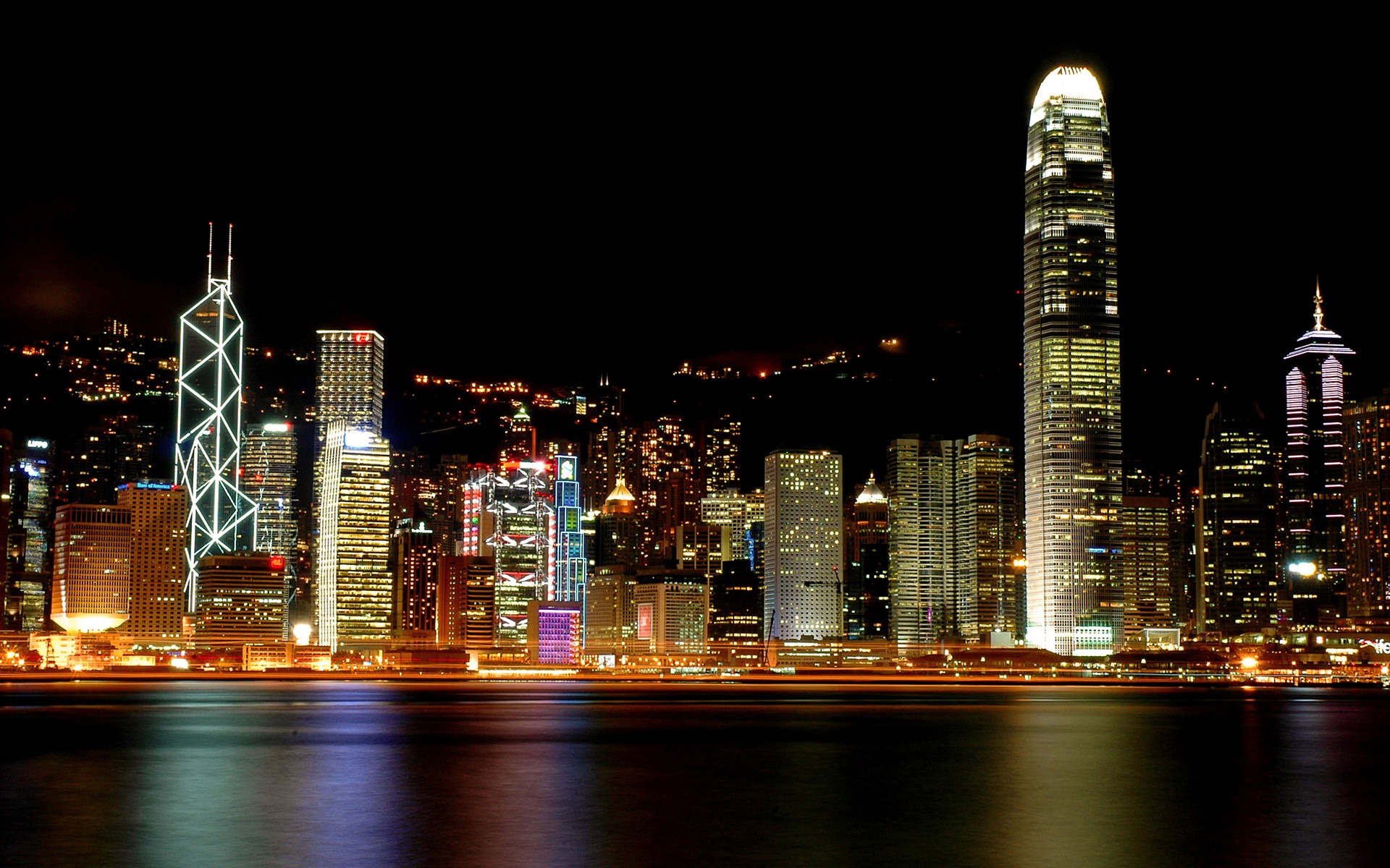 Hongkong Night Views | CITIES
