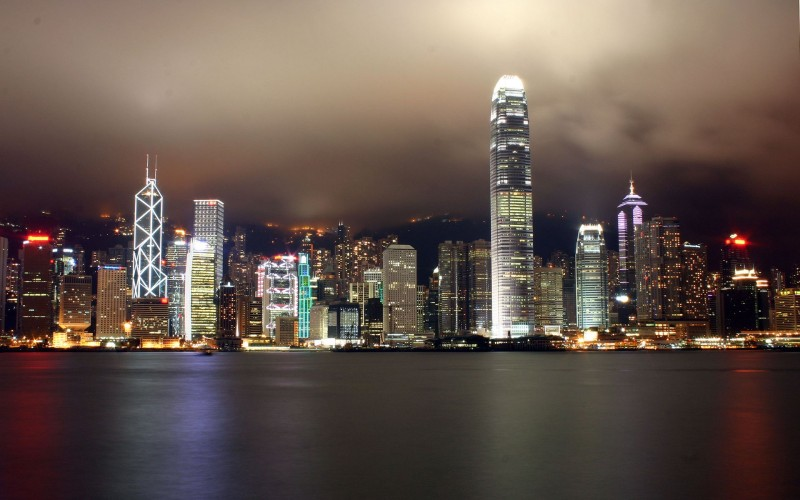 Hongkong Ocean At Night - Hongkong Ocean At Night