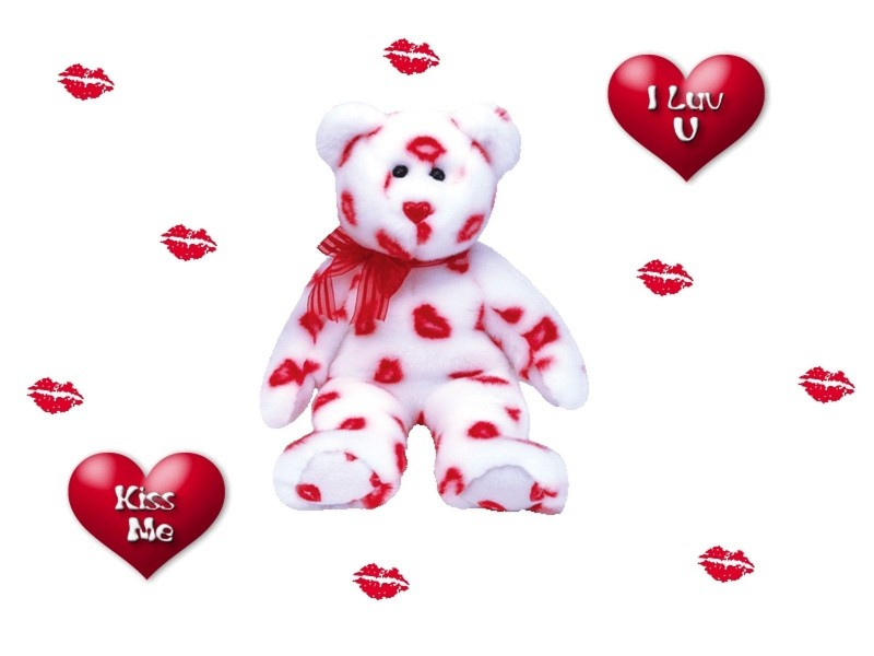 Kissed Teddy Bear - Kissed Teddy Bear