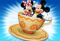 Mickey And Mini Mouse Cupies - Mickey And Mini Mouse Cupies