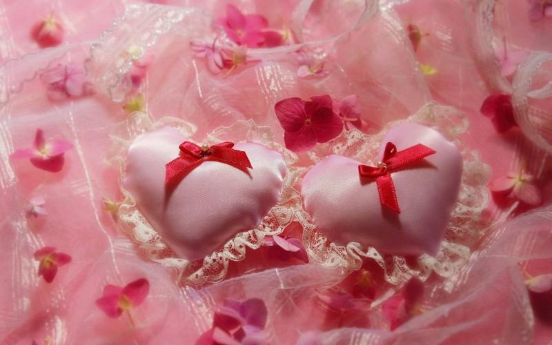Pink Small Pillow Love - Pink Small Pillow Love
